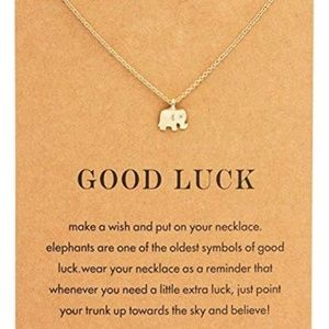 Inspirational Necklaces   Good Luck Elephant